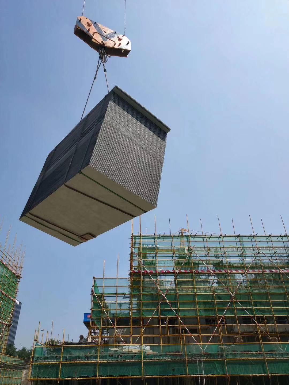 杨凌厂房建设项目采用中空塑料建筑模板